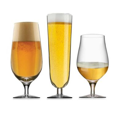 Orrefors Beer Collection Glasses (Set of 3)