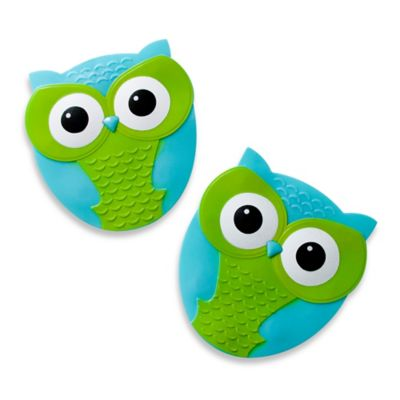 Owl Tub Tread in Blue/Green (Set of 5)