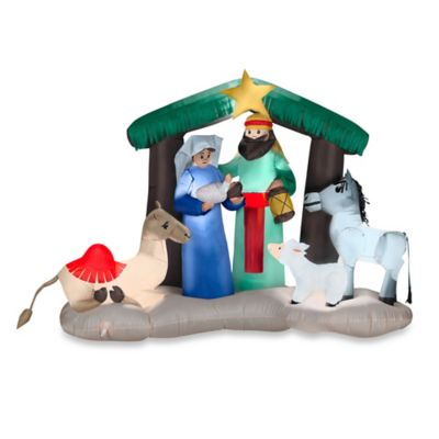 Inflatable Outdoor Nativity Scene