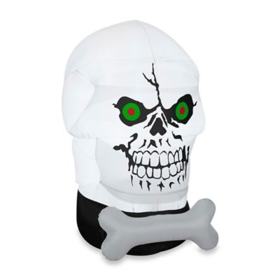 Inflatable Outdoor Gotham Skull