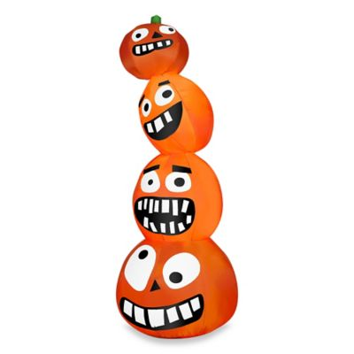 Airblown® Inflatable Outdoor Funny Pumpkin Stack