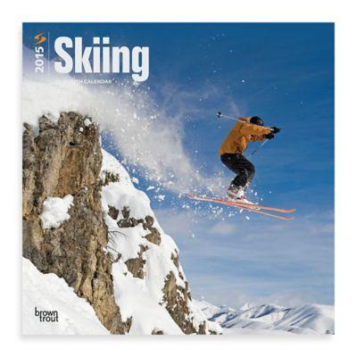 Skiing 2015 Wall Calendar