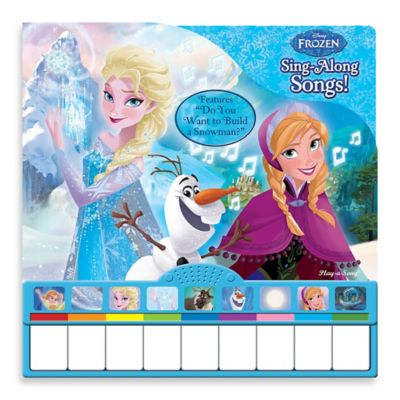 Disney® Frozen Sing-Along Piano Book