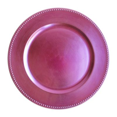 Jay Beaded Charger Plate