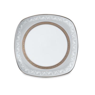 Noritake® Crestwood Platinum 8 3/4-Inch Square Accent Plate