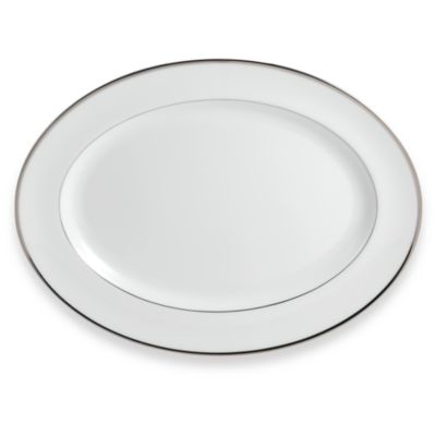 Wedgwood® Sterling 15 1/4-Inch Oval Serving Platter