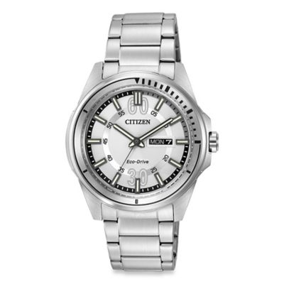 Citizen Men's Eco-Drive HTM Stainless Steel Watch