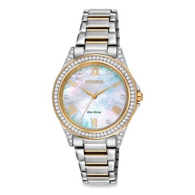 Citizen Drive from Eco-Drive Ladies' SWAROVSKI POV Watch in Stainless Steel