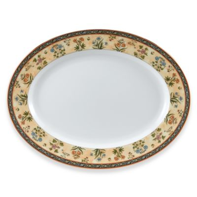 Wedgwood® India 15 1/4-Inch Oval Platter