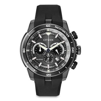 Citizen Eco-Drive Men's 48mm Ecosphere Chronograph Watch with Gunmetal Grey Chroma Finish