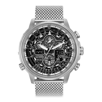 Citizen Men's Eco-Drive Navihawk AT Chrono Watch
