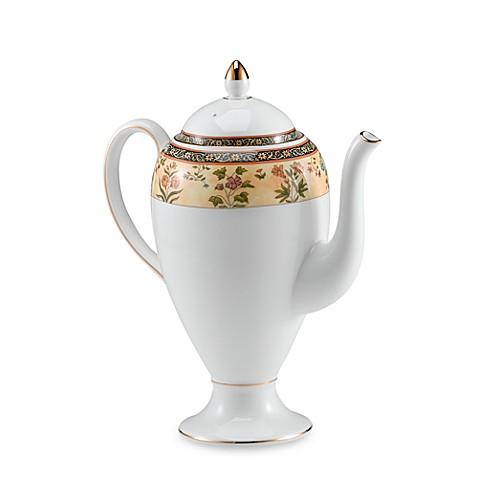 Wedgwood® India 1.6-Pint Coffeepot