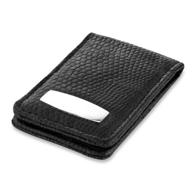 Leather Money and Credit Card Clip