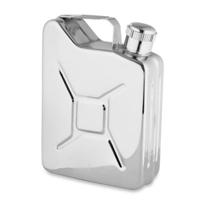 Wilouby 6 oz. Gas Can Flask