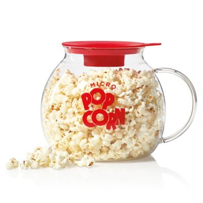 Epoca 3-Quart Microwave Glass Popcorn Popper