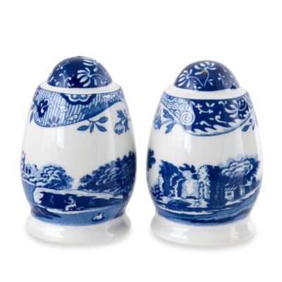 Blue Italian Salt and Pepper Set