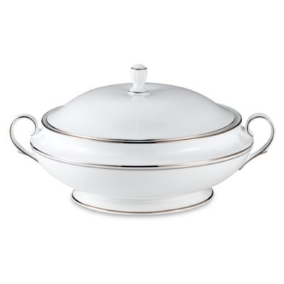 Lenox® Federal Platinum 64-Ounce Covered Vegetable Bowl