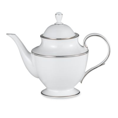Lenox® Federal Platinum 40-Ounce Teapot with Lid
