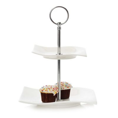 Maxwell & Williams™ White Basics Motion 3-Tier Sweets Stand