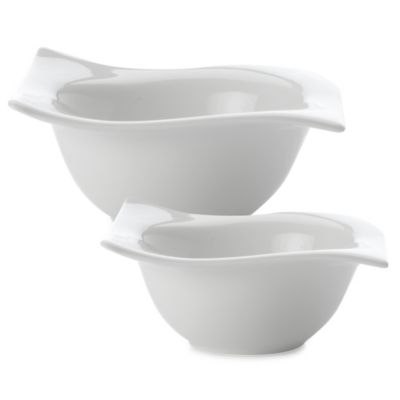 Maxwell & Williams™ 5.5-Inch White Basics Square Motion Bowl