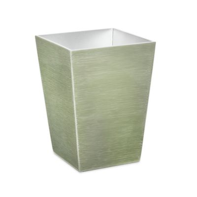 Mike & Ally Studio™ Venetian Waste Basket in Fine Silver