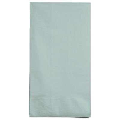 Creative Bath 2-Ply 100-Count Guest Towels in Cool Mint