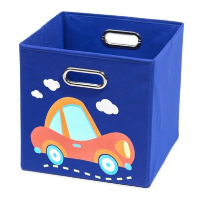 Nuby™ Car Folding Storage Bin in Dark Blue