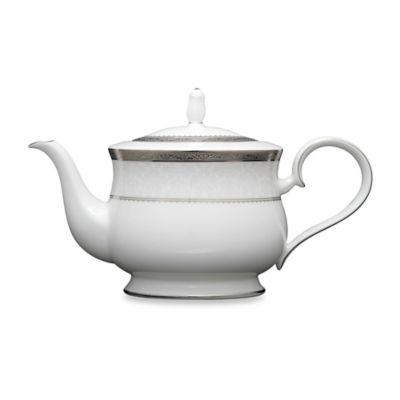 Noritake® Odessa Platinum Teapot