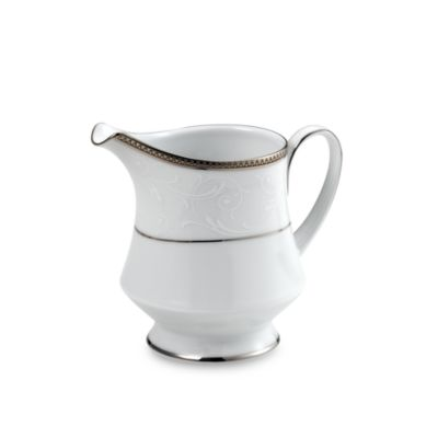 Dishwasher Safe Platinum Creamer