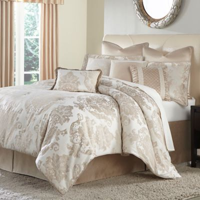 Michael Amini® Marbella 4-Piece California King Comforter Set