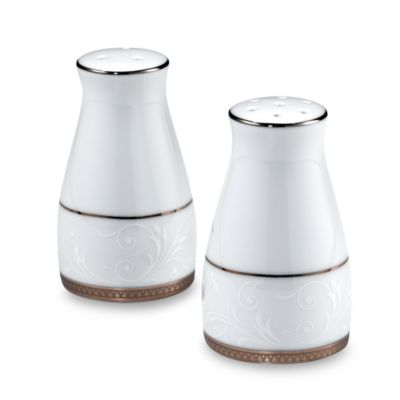 Noritake® Regina Salt and Pepper in Platinum