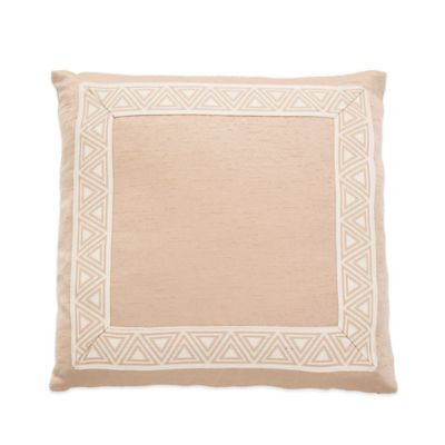 Michael Amini® Marbella Pin Tuck Reversible Square Throw Pillow