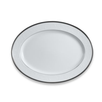 Noritake® Regina Platinum 14-Inch Oval Platter