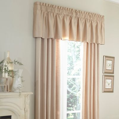 Michael Amini® Marbella Tailored Window Valance