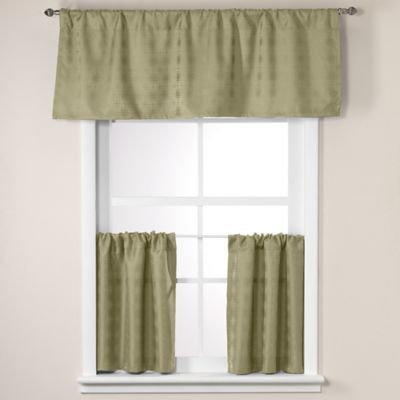 Crypton® Soho Window Valance in Verde