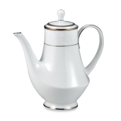 Noritake® Regina Platinum Coffee Server