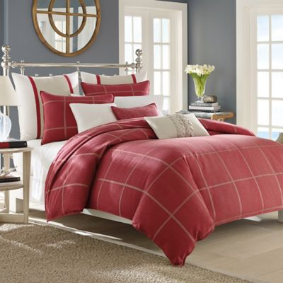 Red Plaid Comforter Sets