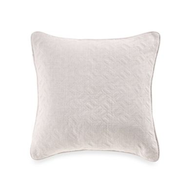 Nautica Millhaven Embroidered Square Throw Pillow