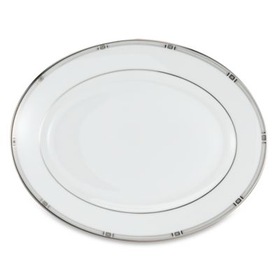 Lenox® Westerly Platinum 13-Inch Oval Platter