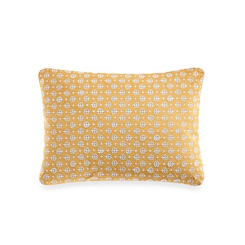 Embroidery Cream Decorative Pillows : Anthology Amaya Cream Embroidered Oblong Throw Pillow - Bed Bath & Beyond
