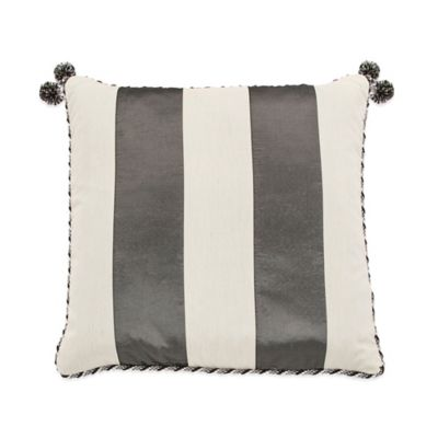 Park Lane Reversible Square Throw Pillow