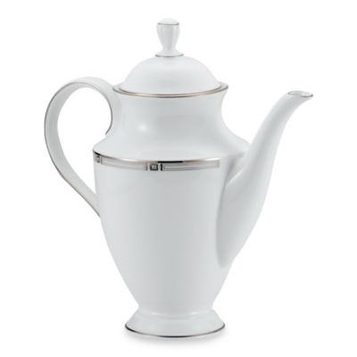 Lenox® Westerly Platinum 40-Ounce Coffeepot