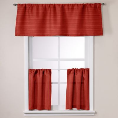 Crypton® Key Largo 36-Inch Window Curtain Tier Pair in Cinnamon