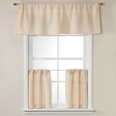 Crypton® Element 24-Inch Window Curtain Tier Pair in Natural