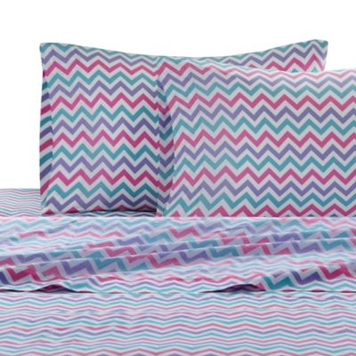 Julissa Chevron Twin Sheet Set