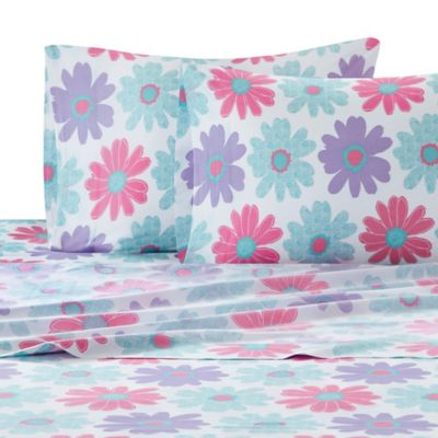 Julissa Floral Queen Sheet Set