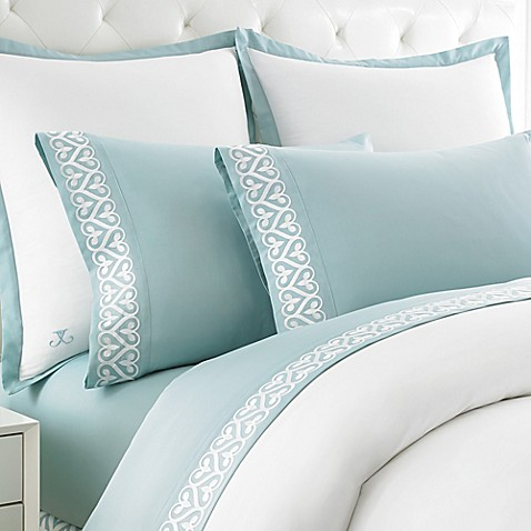 Newport gate embroidered twin sheet set from bed bath amp beyond