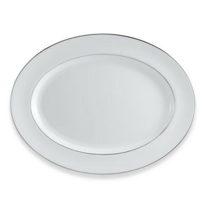 Wedgwood® Signet Platinum 15 1/4-Inch Oval Platter