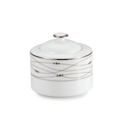 Precious Platinum 10-Ounce Covered Sugar Bowl