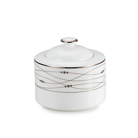 Precious Platinum 10-Ounce Covered Sugar Bowl